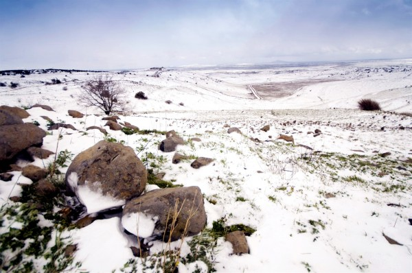 Snow-Golan Heights-cold-weather-Israel
