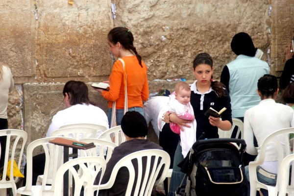 Jewish prayer, Kotel, women