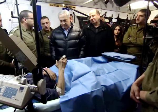 Golan heights-Field hospital-Syrians-civilian casualties
