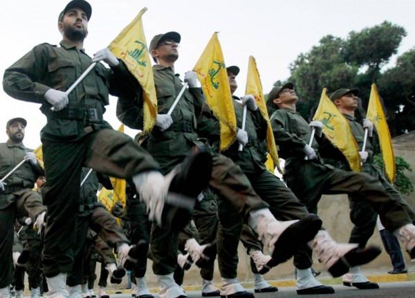 Hezbollah troops