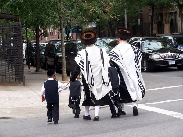 Ultra-Orthodox Jews in Brooklyn