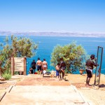 Dead Sea-Jordan-tourists-body care-healing-mud therapy