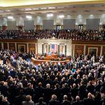 Israeli Prime Minister Benjamin Netanyahu addresses the United States Congress on March 3, 2015.