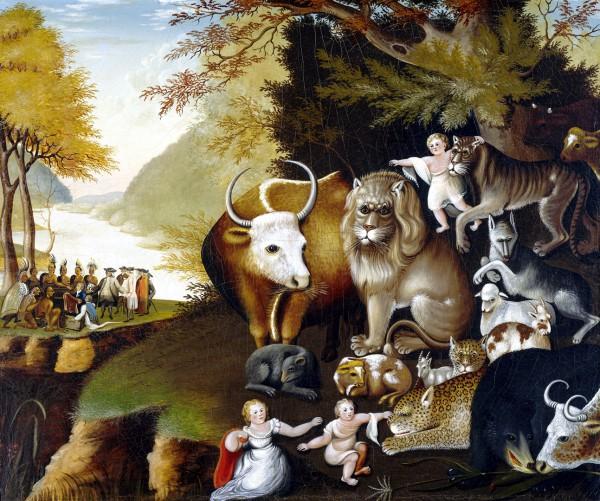 The Peaceable Kingdom, by Edward Hicks