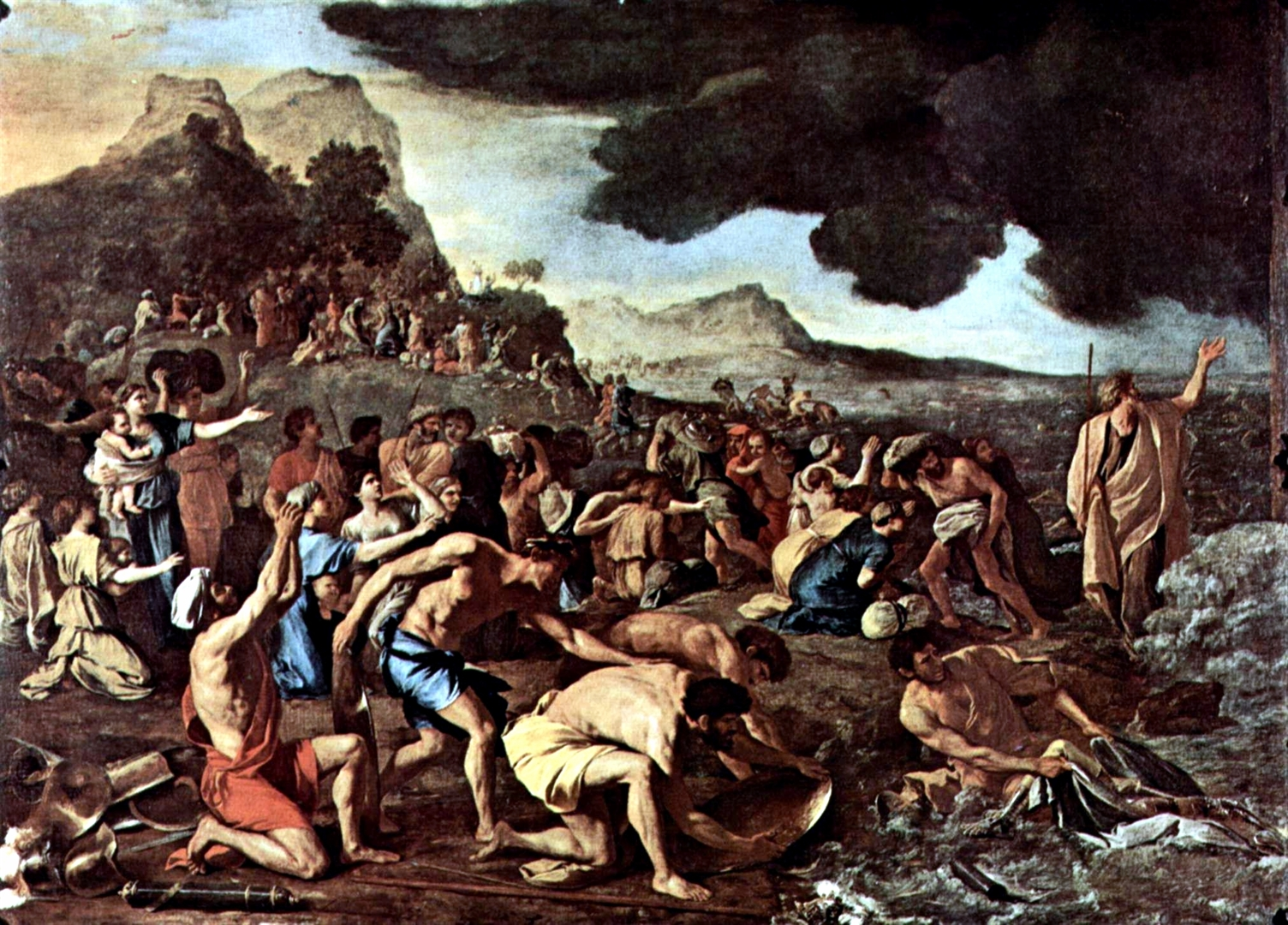 The Crossing of the Red Sea, by Nicholas Poussin