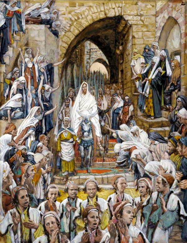 The Procession in the Streets of Jerusalem, by James Tissot