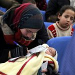 Syrian mother and refugee in Lebanon