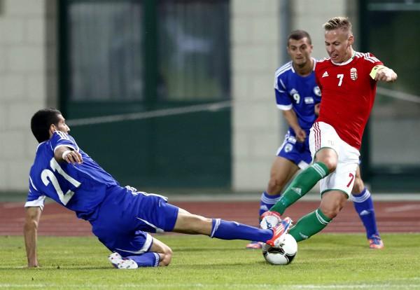 Hungary-Israel-soccer-football