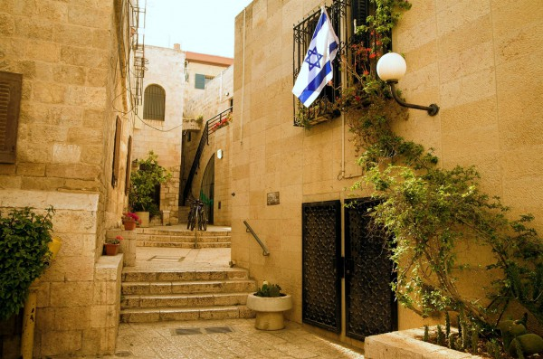 The Jewish Quarter in the Old City of Jerusalem (Israel Photo Gallery by Noam Chen)