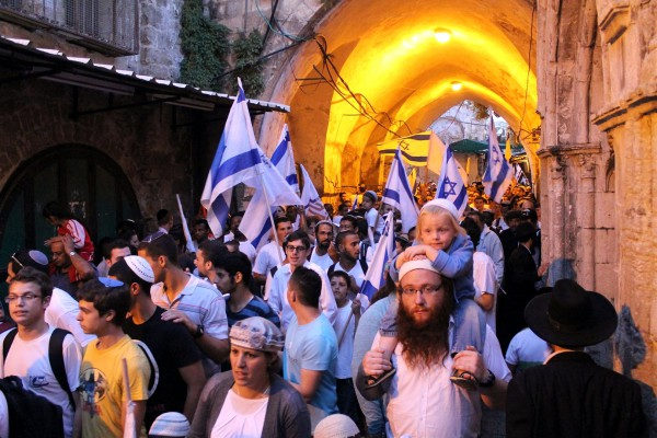 The whole family comes out to rejoice on Jerusalem Day.