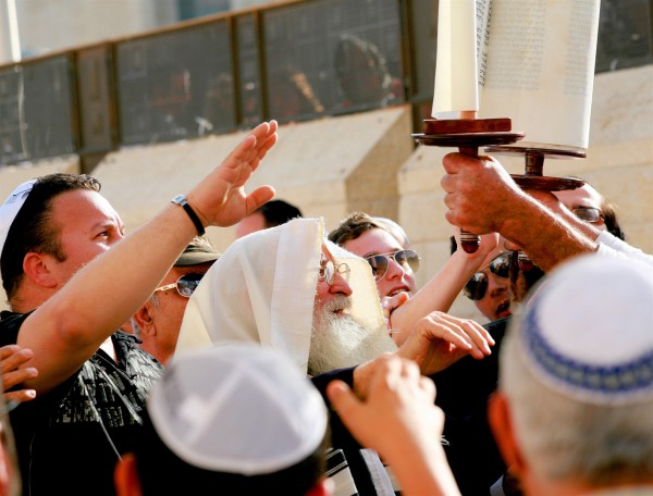 Torah scroll-Kotel