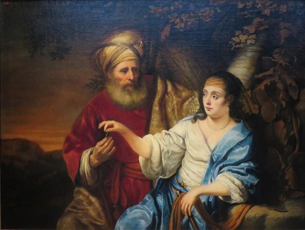 Judah and Tamar, by Ferdinand Bol