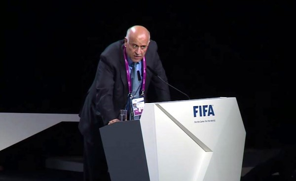 Jibril Rajoub at FIFA