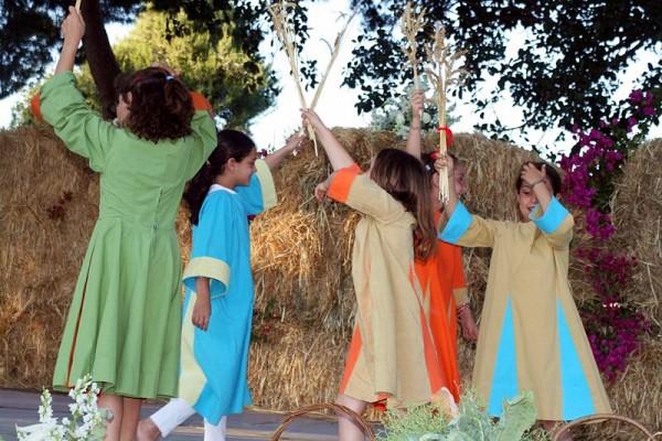 Kibbutz, Israel, Shavuot, dancing