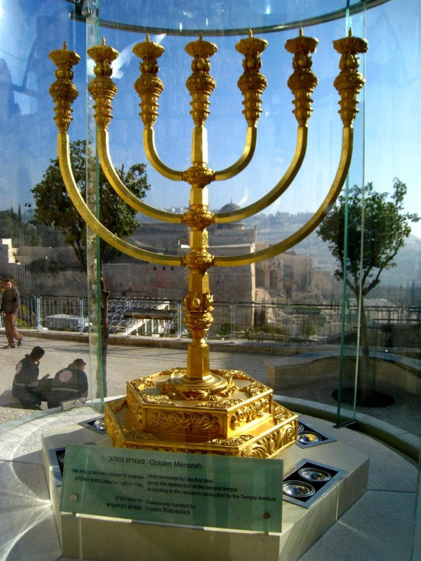 Gold, Third Temple, Menorah