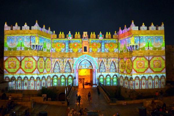 Light in Jerusalem Festival