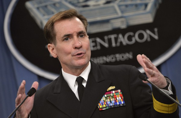 Admiral John Kirby US Department of State spokesperson