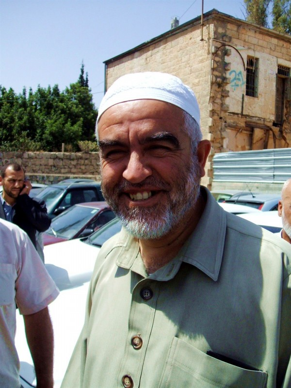 Raed Salah Abu Shakra, leader of the northern branch of the Islamic Movement in Israel.