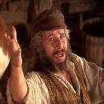 Tevye in Fiddler on the Roof (Screen capture)