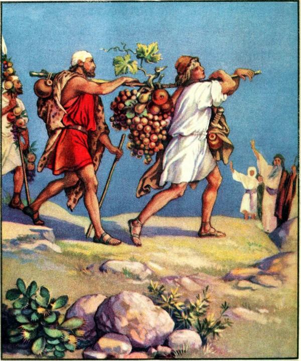 The Twelve Spies (Bible primer, 1919)