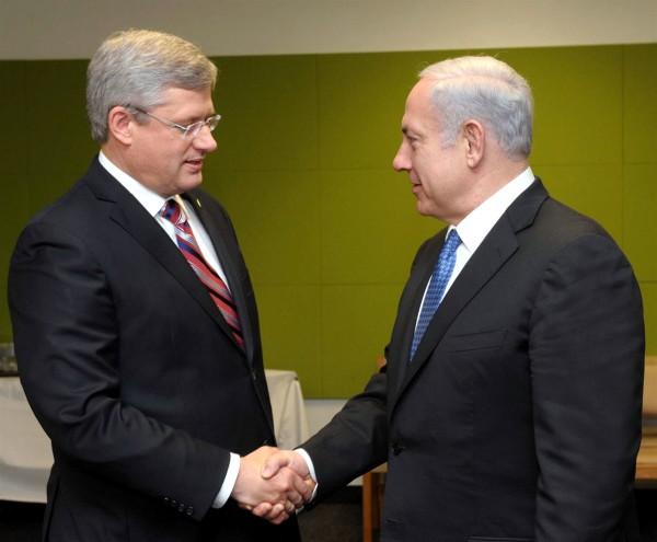 Benjamin Netanyahu-Stephen Harper-free trade agreement