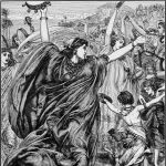Miriam's Song, by John Edward Poynter (The Bible and Its Story, 1910)