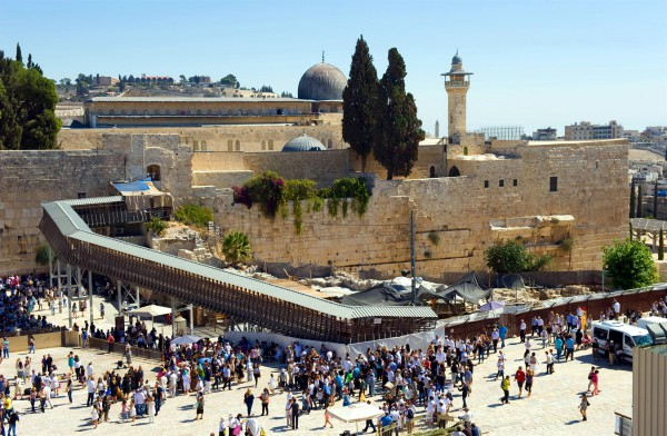 The Mughrabi Gate, the only access point to the Temple Mount for Christians and Jews, is located at the Western (Wailing) Wall.