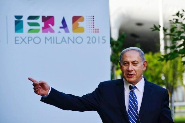 Expo Milan 2015-Italy-Israel-Netanyahu