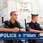 Jerusalem police-Via Dolorosa