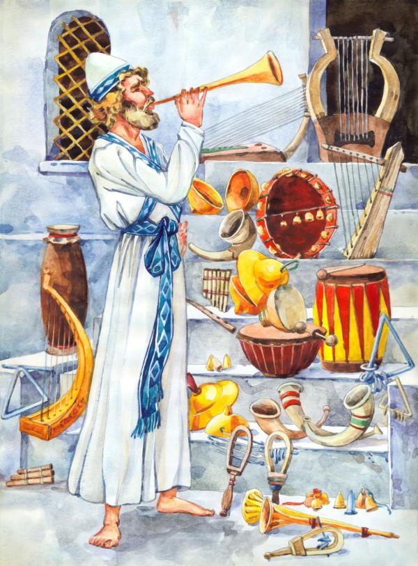 illustration of Kohen-music-worship-praise