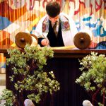Bar Mitzvah boy-Torah scroll-synagogue