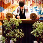 Bar Mitzvah boy-Torah scroll-synagogue