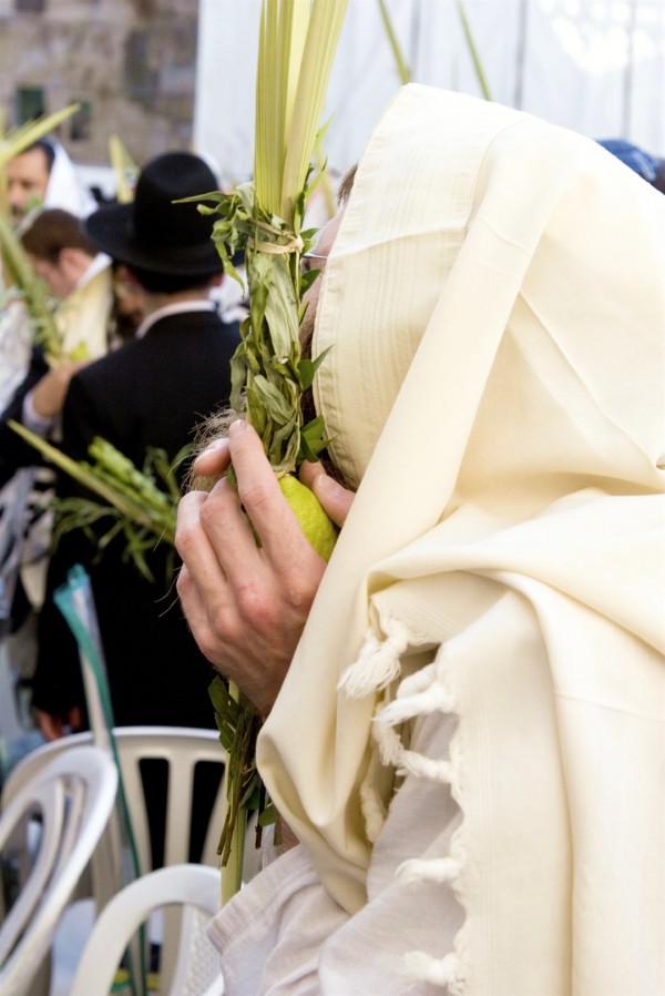 Four Kinds-Sukkot-Jewish prayer