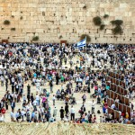 Kotel-crowds-Jewish prayer-Jerusalem