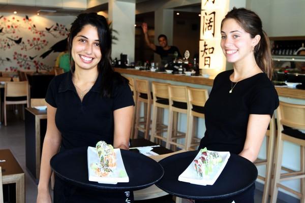 Tel Aviv restaurant-friendly staff