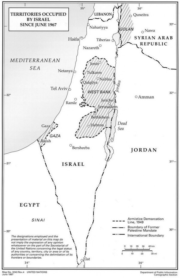 Israel-map-UN-disputed or occupied-territories-product labeling