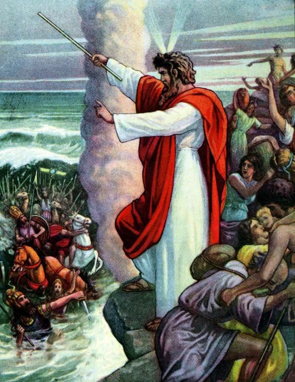 Moses-Red Sea-Exodus