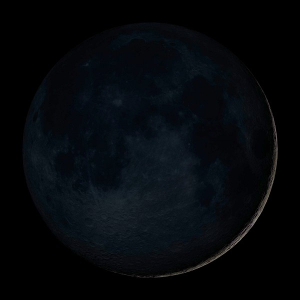 new moon-rosh chodesh-moon phases