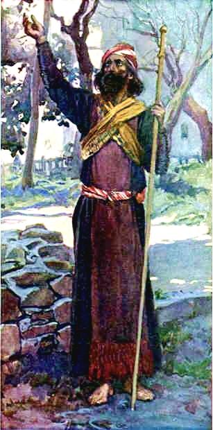 The Prophet Zechariah, James Tissot