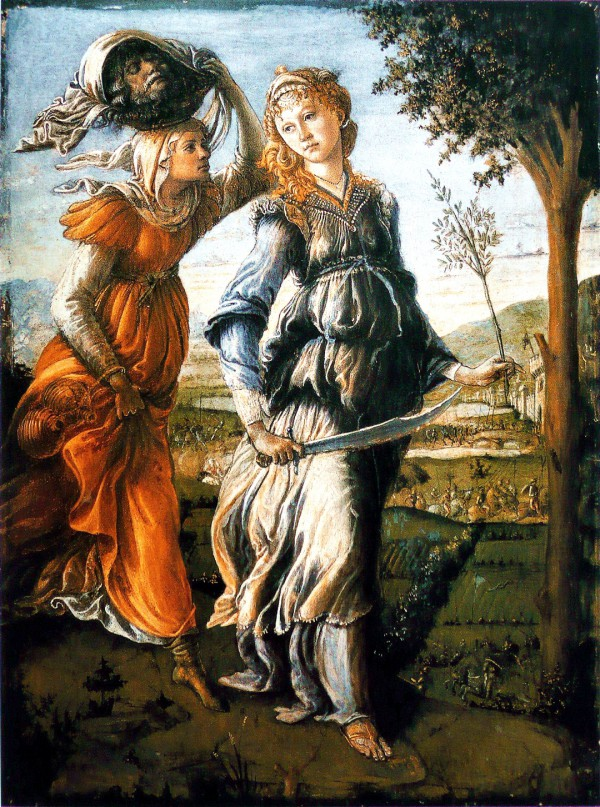 Return Judith to Bethulia, by Botticelli