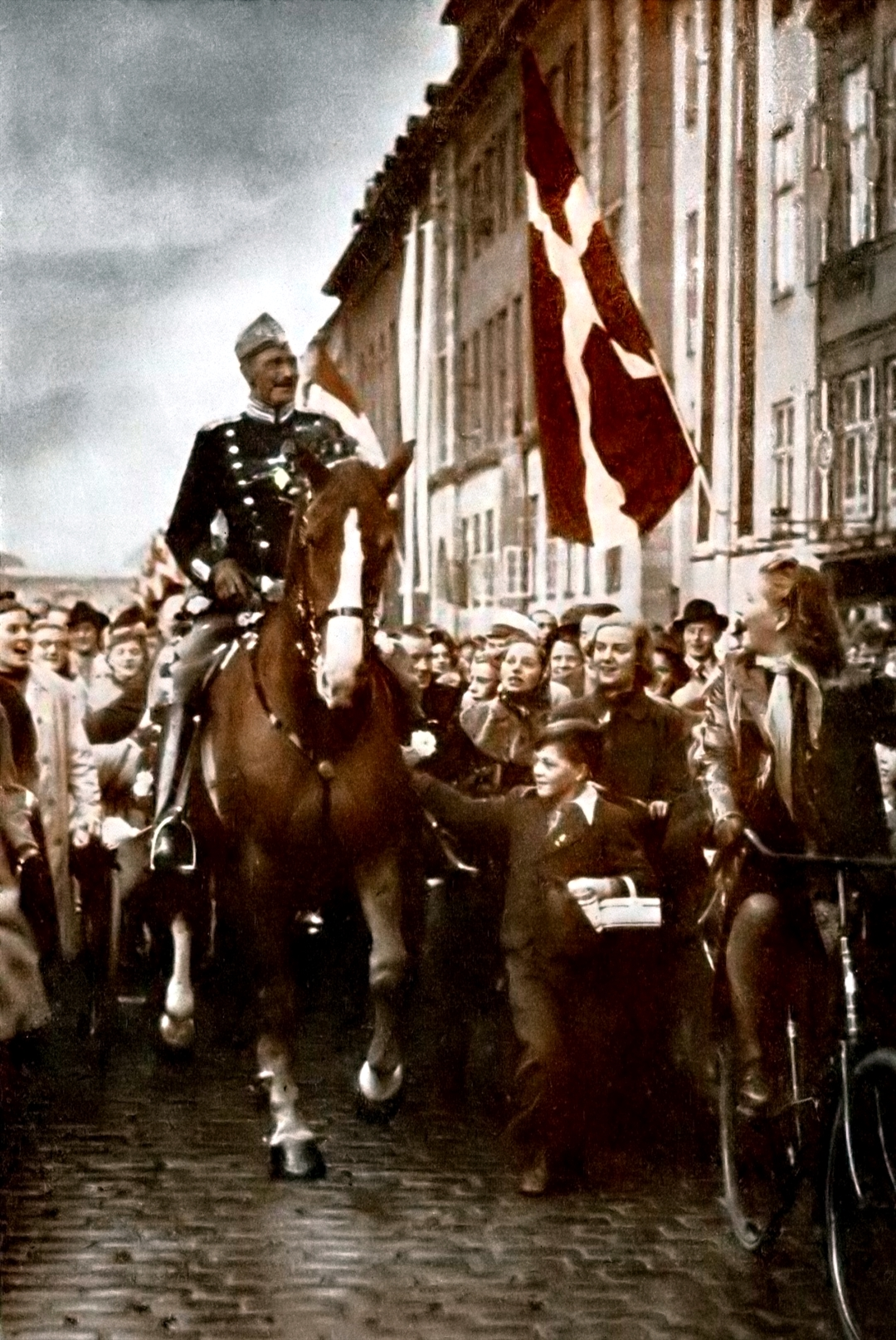 Denmark's beloved King Christian X on his 70th birthday in 1940.