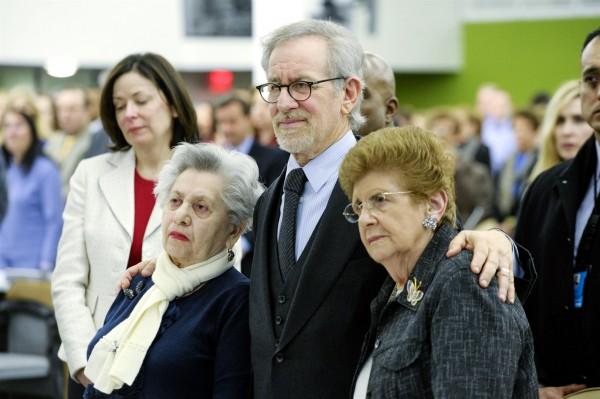 Steven Spielberg, Holocaust survivor, Fira Stukelman, Rena Finder, International Holocaust Remembrance Day