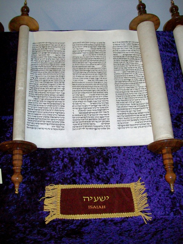 Isaiah, scroll, Bible, prophet, Hebrew prophet