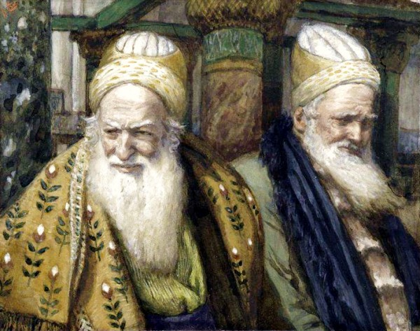 Annas and Caiaphas, by James Tissot