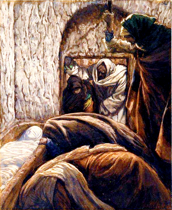 Yeshua in the Sepulchre, by James Tissot