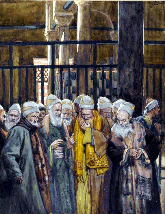 Conspiracy of the Jews, by James Tissot