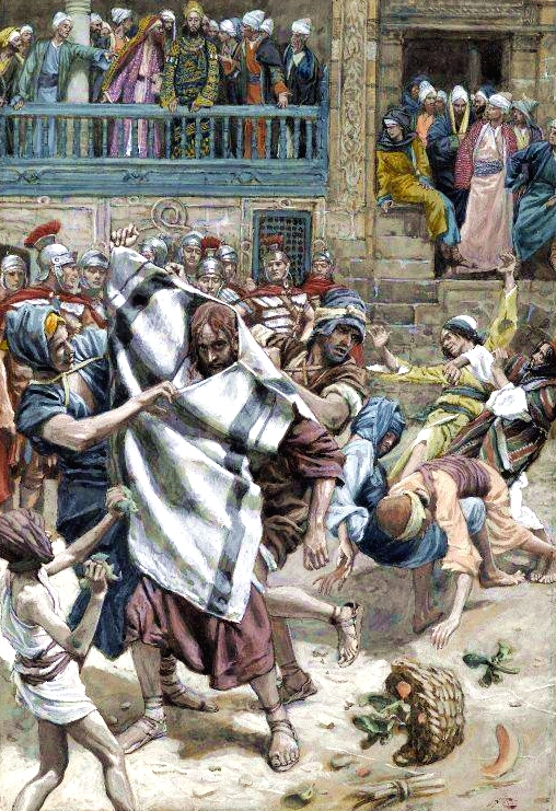 Yeshua Before Herod, by James Tissot