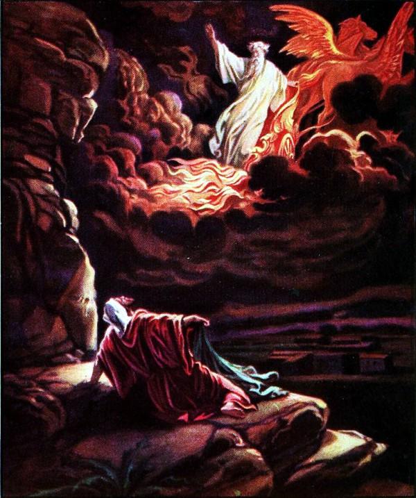 Elisha, Elijah, chariots of fire