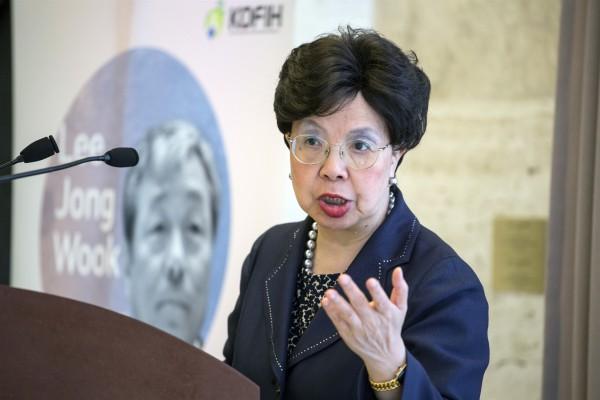 Dr Margaret Chan, WHO