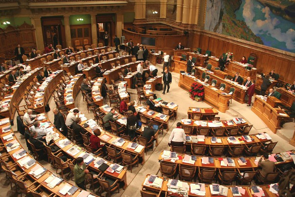 Swiss National Assembly (Photo by Swiss Parliament)